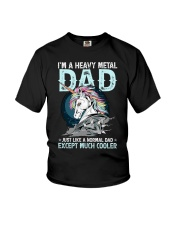 I'm a heavy metal dad Youth T-Shirt thumbnail