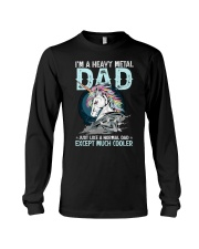 I'm a heavy metal dad Long Sleeve Tee thumbnail