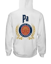 Pa - A fine man and patriot Hooded Sweatshirt thumbnail