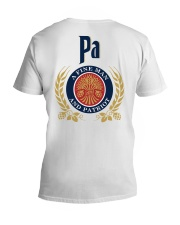Pa - A fine man and patriot V-Neck T-Shirt thumbnail