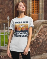 More beer 2020 Classic T-Shirt apparel-classic-tshirt-lifestyle-06