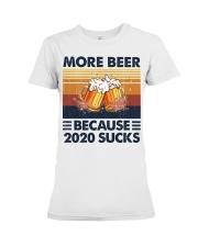 More beer 2020 Premium Fit Ladies Tee thumbnail