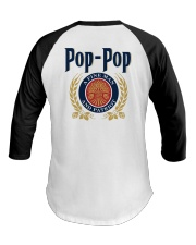 Pop Pop - A fine man and patriot Baseball Tee tile