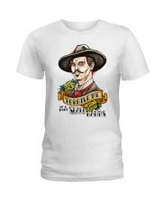 Forgive me if i dont shake hands Ladies T-Shirt thumbnail