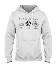 I'm simple Woman Hooded Sweatshirt thumbnail