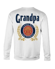 Grandpa - A fine man and patriot Crewneck Sweatshirt thumbnail