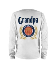 Grandpa - A fine man and patriot Long Sleeve Tee thumbnail