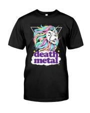 Death Metal Lioncorn Classic T-Shirt front