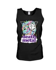 Death Metal Lioncorn Unisex Tank thumbnail