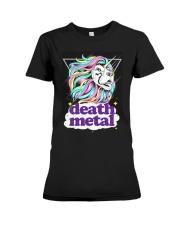 Death Metal Lioncorn Premium Fit Ladies Tee thumbnail