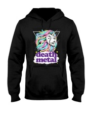 Death Metal Lioncorn Hooded Sweatshirt thumbnail