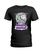 Death Metal Lioncorn Ladies T-Shirt thumbnail