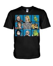 Stay at home V-Neck T-Shirt thumbnail