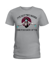 Forgive me if I don't shake hand Ladies T-Shirt thumbnail