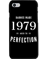 Barnes Made 1979 Aged To Perfection Phone Case thumbnail