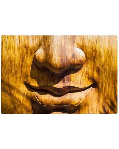 Wood Mask Cutting Board