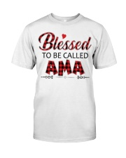 BLESSED TO BE CALLED AMA Classic T-Shirt thumbnail