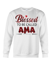 BLESSED TO BE CALLED AMA Crewneck Sweatshirt thumbnail