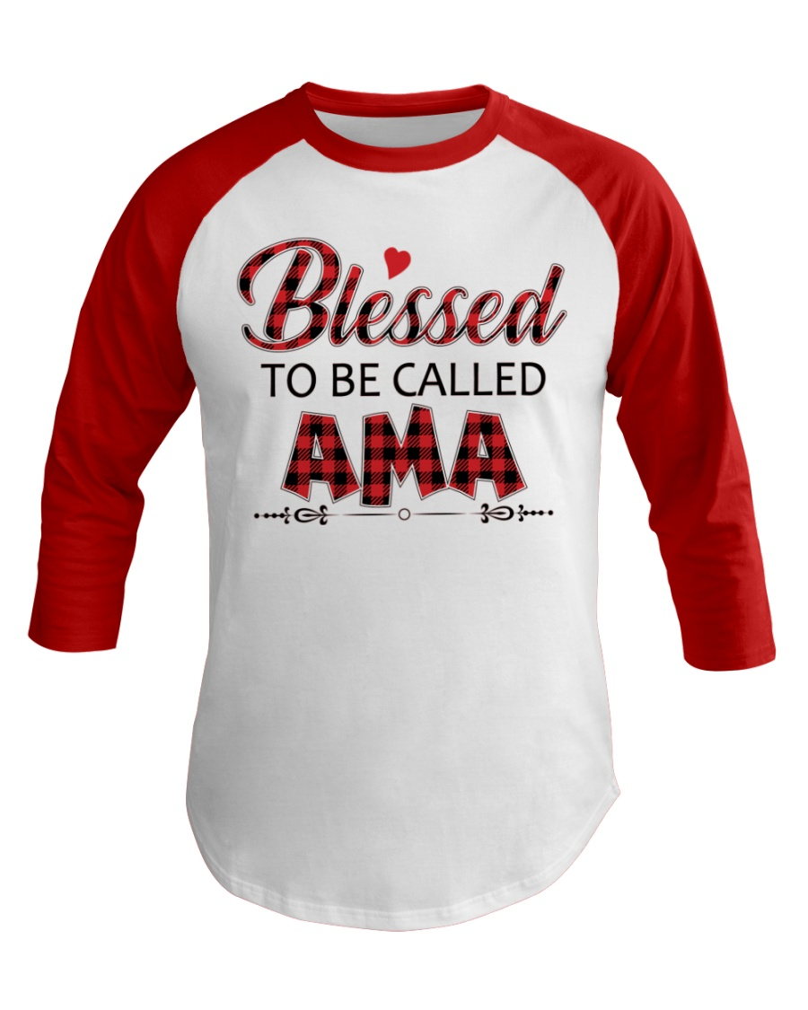 BLESSED TO BE CALLED AMA Baseball Tee