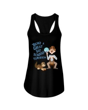There's a Great Big Beautiful Tomorrow Shirt Ladies Flowy Tank thumbnail