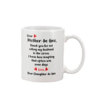 GIFT FOR MOTHER IN LAW Mug front
