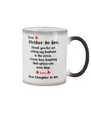 GIFT FOR MOTHER IN LAW Color Changing Mug thumbnail