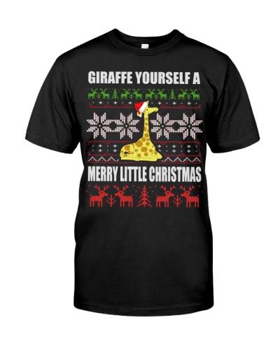 Christmas Giraffe 5