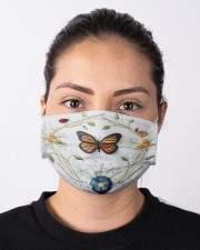 Butterfly Face Mask Limited Edition 7979 Cloth face mask aos-face-mask-lifestyle-01