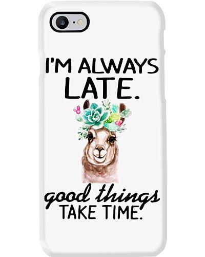 Llama Late Take Time