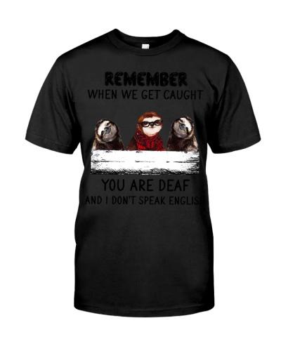 Remeber Sloths