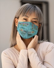 Butterfly Face Mask 2 Cloth face mask aos-face-mask-lifestyle-17