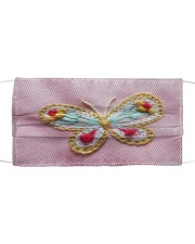 Butterfly Face Mask 5 Cloth face mask front