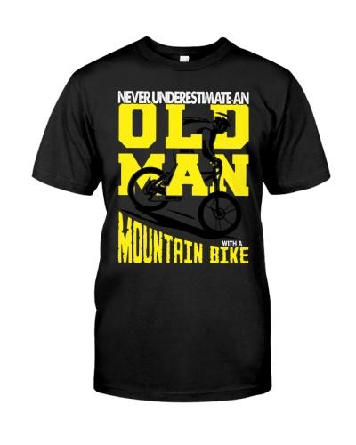 Old man - Mountain bike