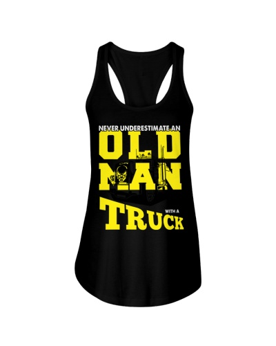 Never underestimate an old man with a truck