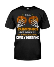 These Pumpkins - Crazy Husband Premium Fit Mens Tee tile