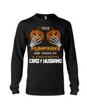 These Pumpkins - Crazy Husband Long Sleeve Tee thumbnail