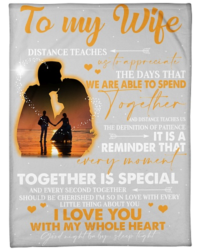 To my Wife - i love you