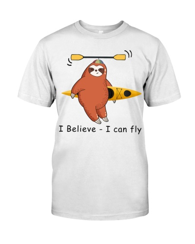 Kayak Sloth - I believe - i can fly