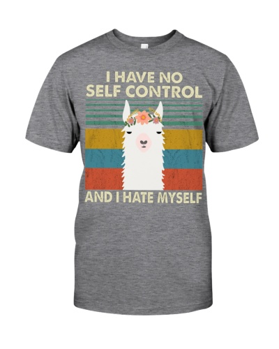 Llamas I have no self control