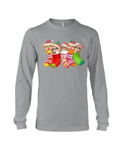 Sloths Christmas 2