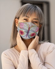 Butterfly Face Mask 1 Cloth face mask aos-face-mask-lifestyle-17