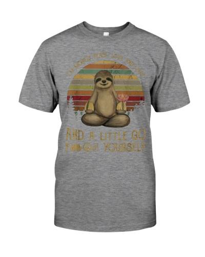Sloths Yourself