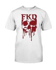 FKD Frankford Philadelphia Dripping Skull Classic T-Shirt thumbnail