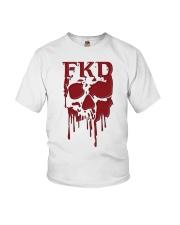 FKD Frankford Philadelphia Dripping Skull Youth T-Shirt thumbnail