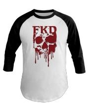 FKD Frankford Philadelphia Dripping Skull Baseball Tee thumbnail