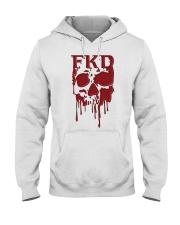 FKD Frankford Philadelphia Dripping Skull Hooded Sweatshirt thumbnail