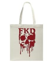 FKD Frankford Philadelphia Dripping Skull Tote Bag thumbnail