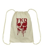 FKD Frankford Philadelphia Dripping Skull Drawstring Bag thumbnail