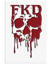 FKD Frankford Philadelphia Dripping Skull 16x24 Poster front