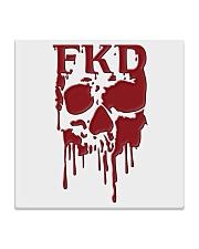 FKD Frankford Philadelphia Dripping Skull Square Coaster thumbnail